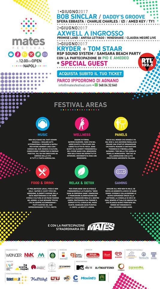 Mates Festival - Official Event