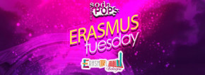 Erasmus Tuesday at Soda Pops - Free Entry